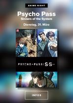 *ABGESAGT* Anime im Dietrich Theater: Psycho Pass: Sinners of the System